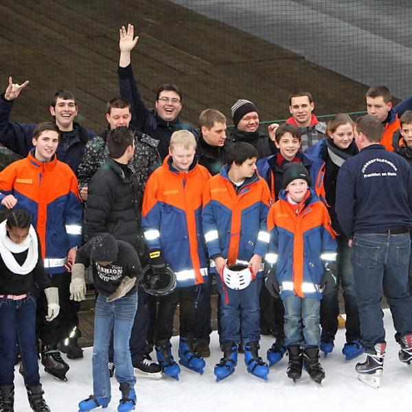 Eislaufen Jugendfeuerwehr 2012