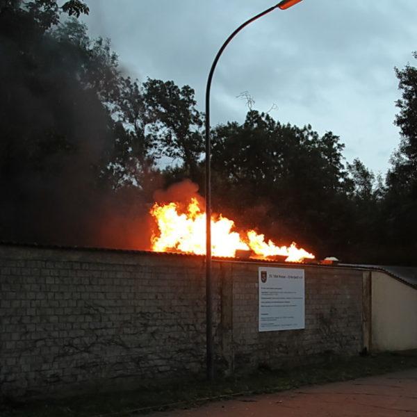 Übung Schützenhaus 18.09.2015