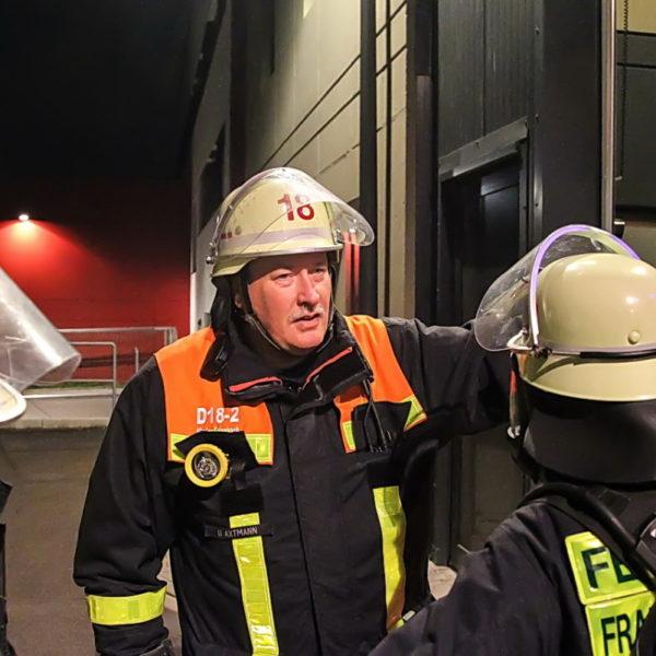 Übung im FRTC mit FF Weißkirchen 08.10.2015
