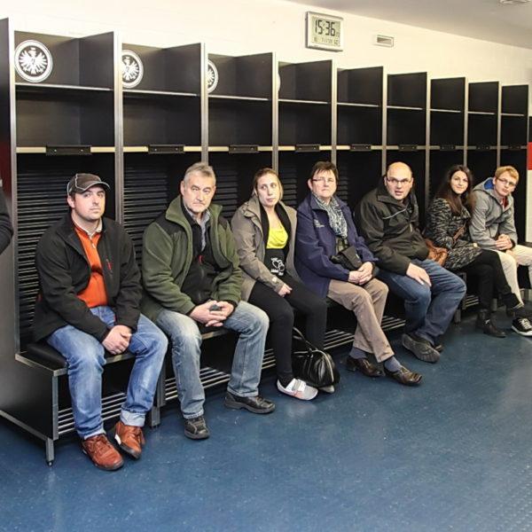Besuch Partnerfeuerwehr Frankfurt Steigerwald 07.11.2015