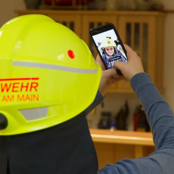 Übergabe neue Helme 21.12.2016