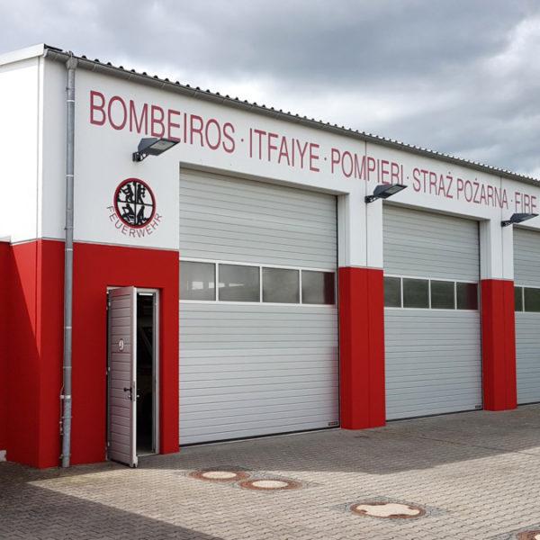 Neuer Anstrich für das Feuerwehrhaus