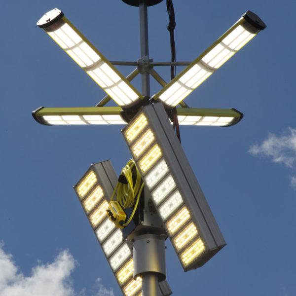 Die beiden Hauptpanels können unabhängig voneinander ausgerichtet werden, auch beispielsweise um 180° versetzt.